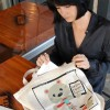 Sneak Peek: SXSW 2012 Interactive Big Bag Art by Yiying Lu!