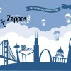 Custom Wall Mural for Zappos SF!