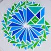 Walls360 Tangrams for Teachers: 9th Bridge School in Las Vegas
