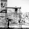 Walls360 Custom Begsonland Wall-to-Wall Graphics for LAB ART Gallery, Los Angeles