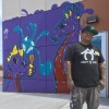 New Juan Muniz Mural and #DoWork Graphics for Doral Academy Arts Integration School