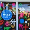 Walls360 Custom Wall Graphics for Hub Modern Home + Gift at the Downtown Container Park in Las Vegas