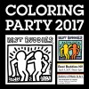 Best Buddies Nevada 2017 Friendship Walk COLORING PARTY at Caesars Palace in Las Vegas, Nevada #Walls360 #ColoringGraphics