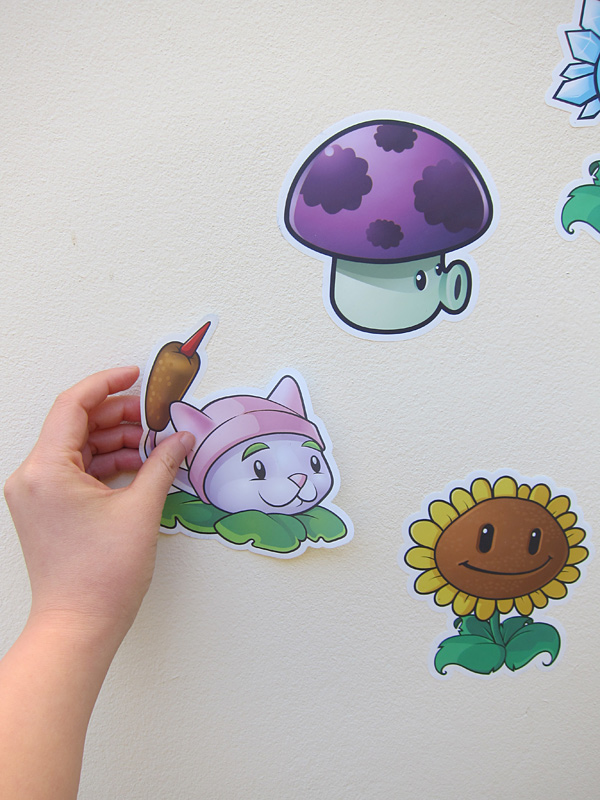 Cool Mom Tech: Plants vs. Zombies On Your Wall!