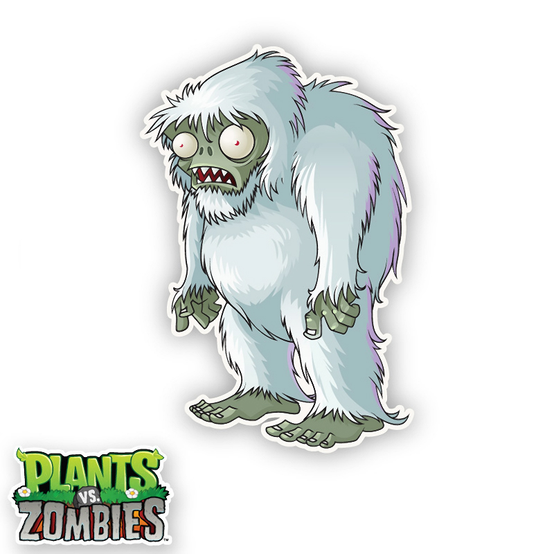 Pvz Yeti Zombie Coloring Pages