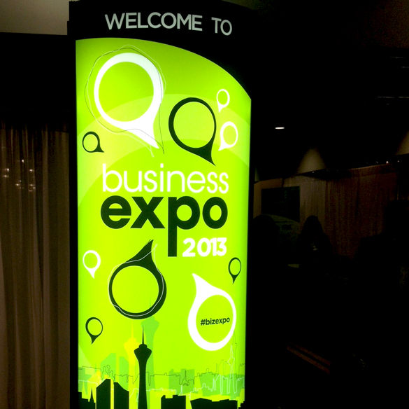 On-Demand Promotional Graphics: Las Vegas Chamber of Commerce, Business Expo 2013