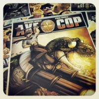 Walls360 Launches Axe Cop On-Demand Wall Graphics Collection at Comic-Con 2014 #SDCC